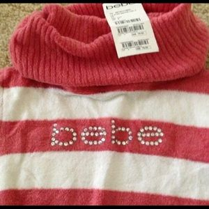 bebe Sweaters - Adorable Bebe soft rhinestone sweater